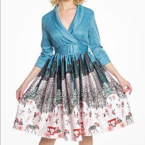 Lindy Bop Central Park holiday dress